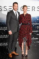 LONDON, UK. December 1, 2016: Chris Pratt &amp; Jennifer Lawrence at the &quot;Passengers&quot; photocall at Claridges Hotel, London.<br /> Picture: Steve Vas/Featureflash/SilverHub 0208 004 5359/ 07711 972644 Editors@silverhubmedia.com
