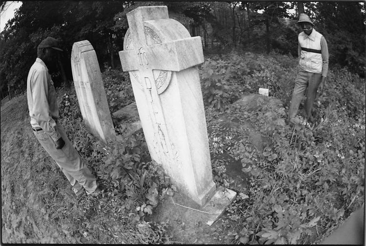 Ancestral graveyard, Pleasant Hill, NC, 1993