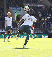 Manchester United's Eric Bailly<br /> <br /> Photographer Rachel Holborn/CameraSport<br /> <br /> The Premier League - Burnley v Manchester United - Sunday 23rd April 2017 - Turf Moor - Burnley<br /> <br /> World Copyright &copy; 2017 CameraSport. All rights reserved. 43 Linden Ave. Countesthorpe. Leicester. England. LE8 5PG - Tel: +44 (0) 116 277 4147 - admin@camerasport.com - www.camerasport.com