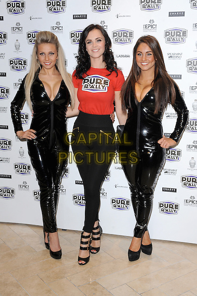 LONDON, ENGLAND - JANUARY 23: Emma Glover joins Pure Rally to celebrate the launch of the new Ibiza rally, Millennium Mayfair Hotel on January 23, 2013 in London, England.<br /> CAP/BEL<br /> &copy;Tom Belcher/Capital Pictures