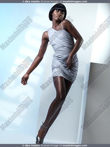 African American High Fashion Models