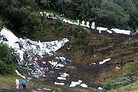 Siniestro Aéreo / Air Loss , cerro Gordo, La Unión, Antioquia. 29-11-2016