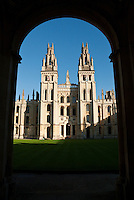 "All Souls College, with its cream-coloured neo-gothic Hawksmoor Towers, is often thought to be academia's original ""ivory tower""."
