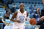 21 November 2013: North Carolina's Diamond DeShields. The University of North Carolina Tar Heels played the Coastal Carolina University Chanticleers in an NCAA Division I women's basketball game at Carmichael Arena in Chapel Hill, North Carolina. UNC won the game 106-52.