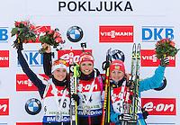 20141218: SLO, Biathlon - IBU Biathlon World Cup Pokljuka, Women 7.5km Sprint