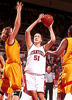 STANFORD, CA - NOVEMBER 21: Cori Enghusen of the Stanford Cardinal during Stanford's 95-82 win over the Iowa State Cyclones on November 21, 1999 at Maples Pavilion in Stanford, California.