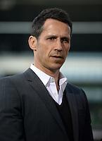 FUSSBALL   1. BUNDESLIGA   SAISON 2012/2013    30. SPIELTAG SV Werder Bremen - VfL Wolfsburg                          20.04.2013 Thomas Eichin (SV Werder Bremen)