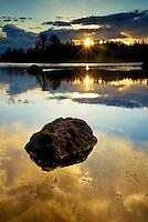River Rock Sunrise. Memorial Day 2013