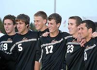 Boys Soccer Senior Night 10-6-08