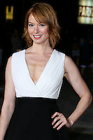 WESTWOOD, LOS ANGELES, CA, USA - NOVEMBER 03: Alicia Witt arrives at the Los Angeles Premiere Of Universal Pictures and Red Granite Pictures' 'Dumb and Dumber To' held at the Regency Village Theatre on November 3, 2014 in Westwood, Los Angeles, California, United States. (Photo by Xavier Collin/Celebrity Monitor)