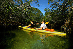 Florida: Florida Keys, kayaking, model released.  Photo: flkeys103.Photo copyright Lee Foster, 510/549-2202, lee@fostertravel.com, www.fostertravel.com
