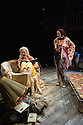 London, UK. 06.01.2016. Grey Gardens, produced by Danielle Tarento and directed by Thom Southerland, the award-winning team behind Grand Hotel, Titanic, Parade and Mack & Mabel, will open for a 6-week season in The Large at Southwark Playhouse on Saturday 2 January and runs to Saturday 6 February. Picture shows: Sheila Hancock (Edith Bouvier Beale), Jenna Russell ('Little' Edie Beale). Photograph © Jane Hobson.