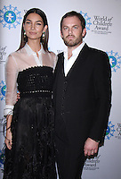 NEW YORK, NY-October 27: Lily Aldridge, Caleb Followill at  World of Children Awards 2016 at  583 Park Avenue in New York.October 27, 2016. Credit:RW/MediaPunch