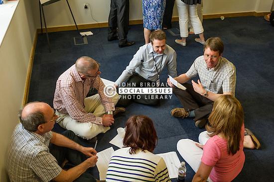 Brainstorming work meeting UK