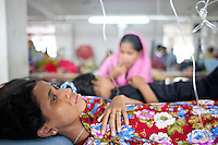 Garment workers hunger strike in Dhaka goes on