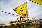 Hawaiian Outrigger Canoe Race