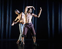 London, UK. 16.09.2015. Choreographer, Shobana Jeyasingh, presents MATERIAL MEN, starring bharathanatyam dancer Sooraj Subramaniam and hip-hop dancer, Shailesh Bahoran, as part of a double bill with 'Strange Blooms', in the Queen Elizabeth Hall, Southbank Centre. Photograph © Jane Hobson.
