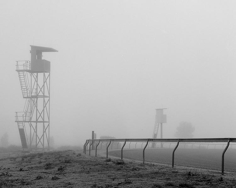 Horsham Racetrack<br /> Early Morning Fog<br /> 2012