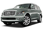Infiniti QX56 SUV 2011 Stock Photo