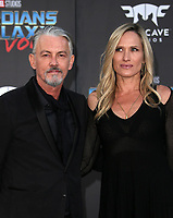 HOLLYWOOD, CA - April 19: Tommy Flanagan, Dina Livingston, At Premiere Of Disney And Marvel's &quot;Guardians Of The Galaxy Vol. 2&quot; At The Dolby Theatre  In California on April 19, 2017. <br /> CAP/MPI/FS<br /> &copy;FS/MPI/Capital Pictures