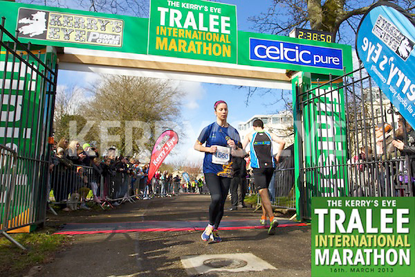 1560 Catherine O'Connor who took part in the Kerry's Eye, Tralee International Marathon on Saturday March 16th 2013.