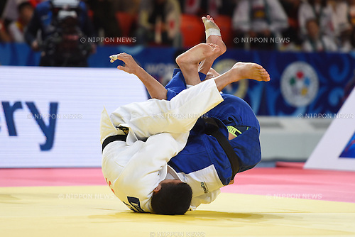 Kengo Takaichi (JPN), AUGUST 25, 2015 - Judo : World Judo Championships Astana 2015 Men's -66kg 1st round at Alau Ice Palace in Astana, Kazakhstan. (Photo by AFLO SPORT)