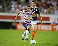 Jacksonville, FL - Saturday, May 26, 2012: Landon Donovan dribbles with the ball. The USMNT defeated Scotland 5-1 during an international friendly match.