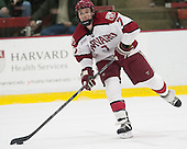 Danny Fick (Harvard - 7) - The visiting Brown University Bears defeated the Harvard University Crimson 2-0 on Saturday, February 22, 2014 at the Bright-Landry Hockey Center in Cambridge, Massachusetts.