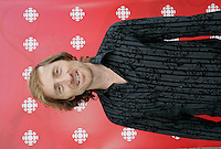 Montreal (Qc) CANADA, August 22, 2007 - <br /> Emmanuel Bilodeau,<br />  Lancement Radio Canada automne 2007