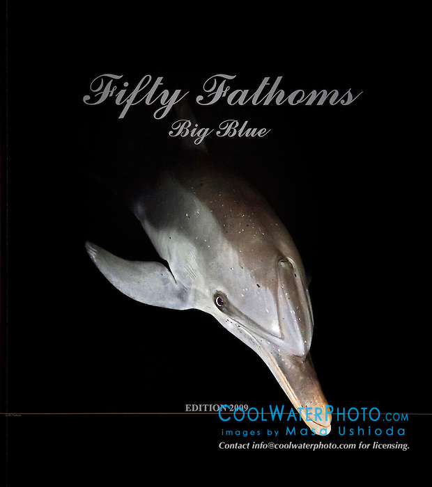 Blancpain Fifty Fathoms Watch 2009 Edition, advertising book, cover use, Germany, Image ID: Spotted-Dolphin-Atlantic-0001-V