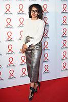 Audrey Pulvar - SOIREE DE PRESENTATION DU SIDACTION 2017 AU MUSEE DU QUAI BRANLY