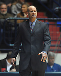Mississippi head basketball coach Andy Kennedy against Mississippi at the C.M. &quot;Tad&quot; Smith Coliseum in Oxford, Miss. on Tuesday, January 3, 2012. (AP Photo/Oxford Eagle, Bruce Newman)