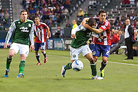 CD Chivas USA defeated the Portland Timbers 1-0 at Home Depot Center stadium in Carson, California on June 4, 2011....