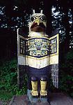 Eagle grave marker, Totem Bight SHP