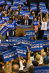 U.S. Senator and presidential candidate Bernie Sanders speaks to a crowded Heritage Hall at the Lexington Convention Center in Lexington, Ky. on Wednesday, May 4, 2016. The Kentucky democratic primary is on May 17th. Photo by Michael Reaves | Staff.