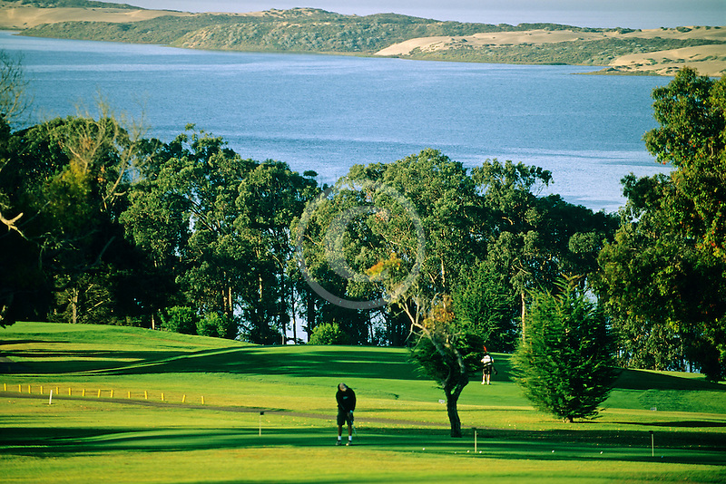 California, Morro Bay, Morro Bay State Park , Golf Course