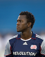 New England Revolution forward Kenny Mansally (7). The New England Revolution defeated Monarcas Morelia in SuperLiga 2010 group stage match, 1-0, at Gillette Stadium on July 20, 2010.