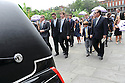 Mourners follow hearse for Congresswoman Lindy Boggs funeral, 2014