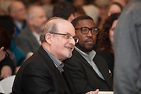 20150114 Salman Rushdie Speaks at Ira Allen Chapel
