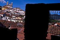 Ouro Preto city in Minas Gerais state, Brazil