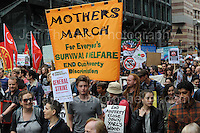 London 20th June 2015 - The &quot;End Austerity Now&quot; protest rally. <br /> <br /> <br /> Jeff Thomas Photography -  www.jaypics.photoshelter.com - <br /> e-mail swansea1001@hotmail.co.uk -<br /> Mob: 07837 386244 -