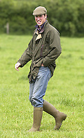 Prince William at Duchy Home Farm in Gloucestershire..Picture: UK Press