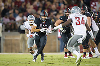 STANFORD, CA - October 8, 2016: Brent Peus at Stanford Stadium. The Washington State Cougars defeated the Cardinal 42-16.