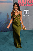 Christina Milian at the premiere for &quot;Kong: Skull Island&quot; at Dolby Theatre, Los Angeles, USA 08 March  2017<br /> Picture: Paul Smith/Featureflash/SilverHub 0208 004 5359 sales@silverhubmedia.com