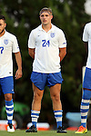 28 August 2016: Saint Louis's Noah Murphy. The University of North Carolina Tar Heels hosted the Saint Louis University Billikens at Fetter Field in Chapel Hill, North Carolina in a 2016 NCAA Division I Men's Soccer match. UNC won the game 3-0.