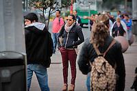 Quer&eacute;taro, Qro. 04 Enero 2016.- Esta ma&ntilde;ana  se registraron bajas en los &iacute;ndices de temperatura en la capital del estado y se espera y cuntinue por el resto del d&iacute;a..<br /> Foto: Victor Pichardo / Obture Press Agency
