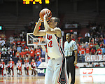 "Ole Miss' Marshall Henderson (22) vs. Coastal Carolina at the C.M. ""Tad"" Smith Coliseum in Oxford, Miss. on Tuesday, November 13, 2012. (AP Photo/Oxford Eagle, Bruce Newman)"