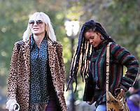 NEW YORK, NY November 07:Cate Blanchett, shooting on location for Ocean 8 in Central Park New York .November 07, 2016. Credit:RW/MediaPunch
