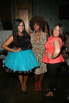 "Kelly Linton of Brooklyn 11223, MarieDriven and Angelia Attend ""RokStarLifeStyle"" Celebrity Publicist MarieDriven Birthday Extravaganza Hosted by Jack Thriller & MTV Angelina Pivarnick Held at Chelsea Manor, NY"