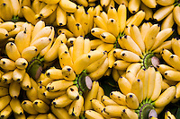 Bunches of bananas, Bangkok, Thailand